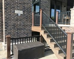 Stairwell Addition in Mokena