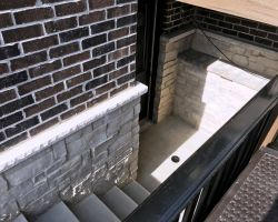 Mokena - Outside Access Stairwell Addition