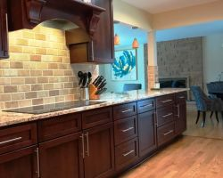 Kitchen Dark Cabinets